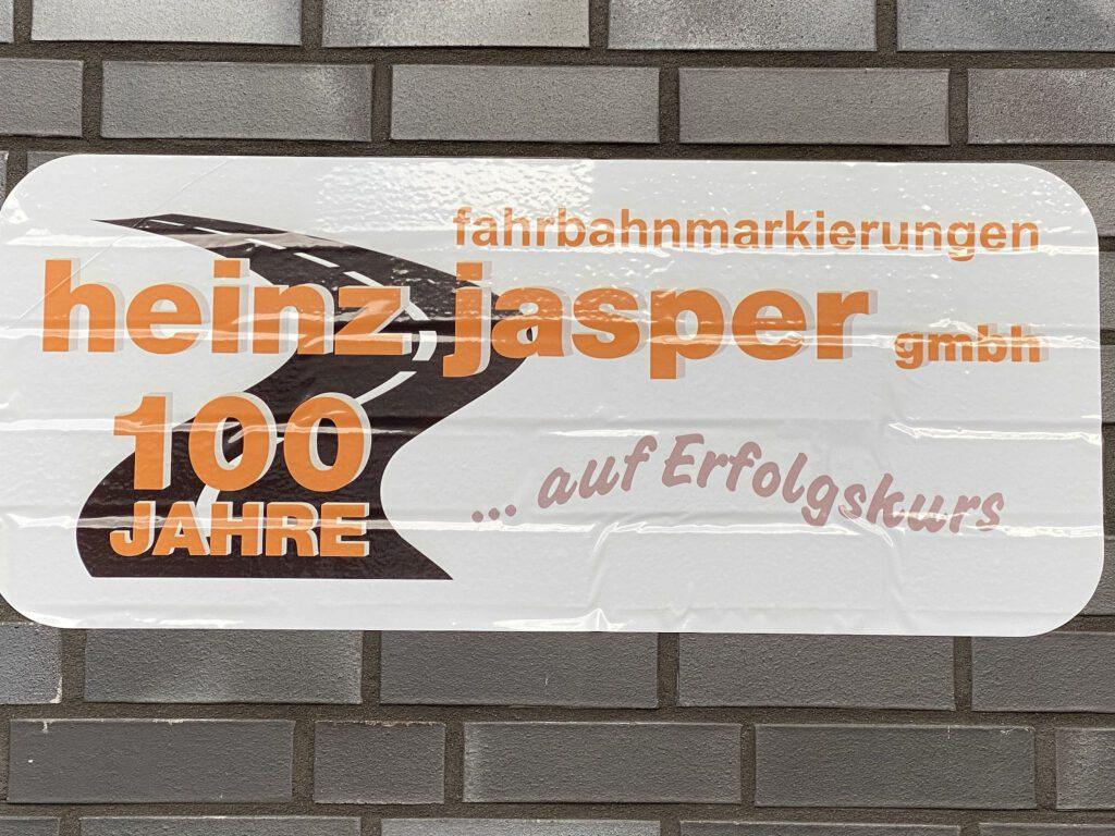 100 Jahre Heinz Jasper GmbH