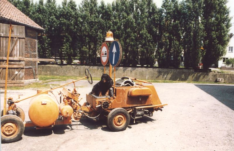 Fuhrpark 70er Jahre