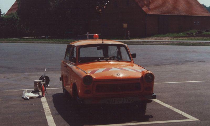 Fahrzeug aus den 80er Jahren